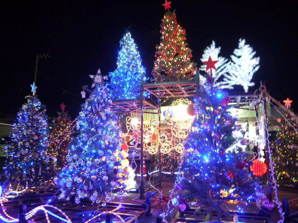 2013-2014冬イルミネーション【南相馬市原町区】まちなかひろば