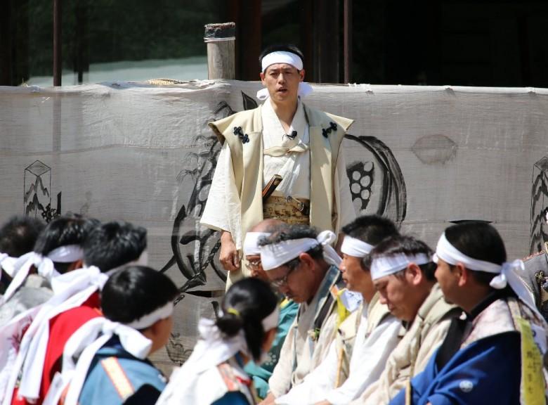 平成26年 相馬野馬追宵祭-総大将出陣の宴-