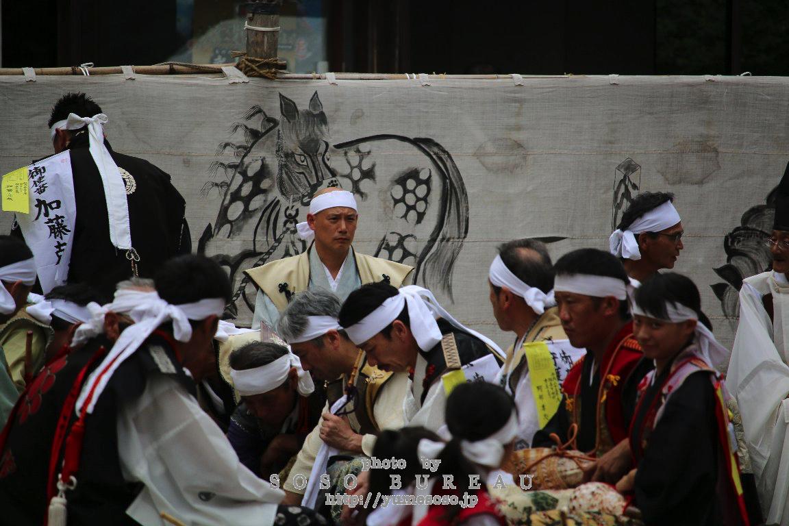 平成29年相馬野馬追~総大将出陣の宴~