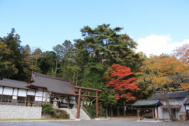 【飯舘村】山津見神社