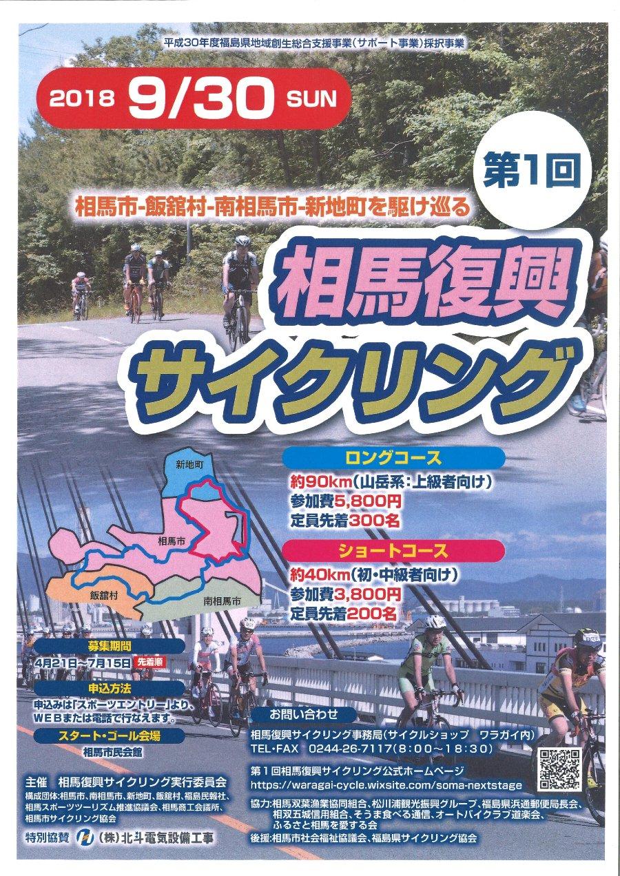 相馬復興サイクリング @ 相馬市、飯舘村、南相馬市、新地町