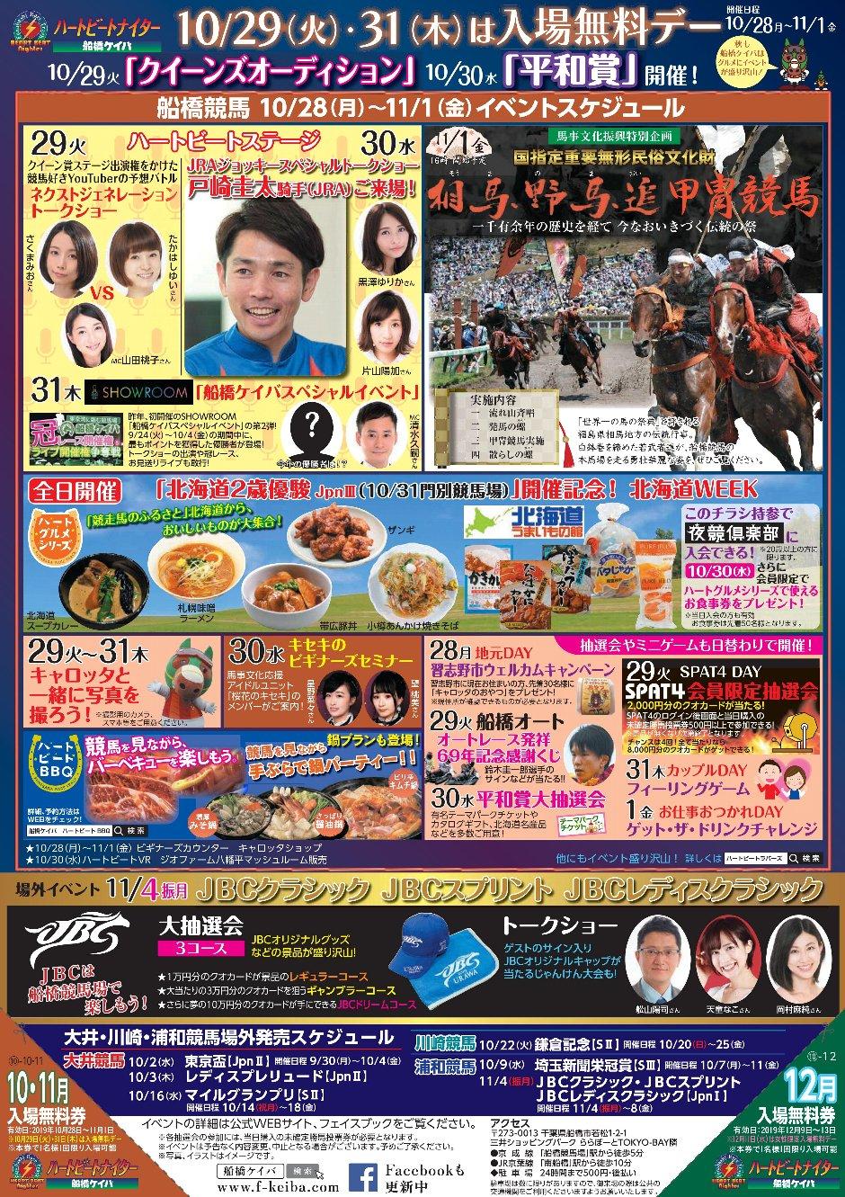 2019.11.1相馬野馬追甲冑競馬(船橋競馬場)