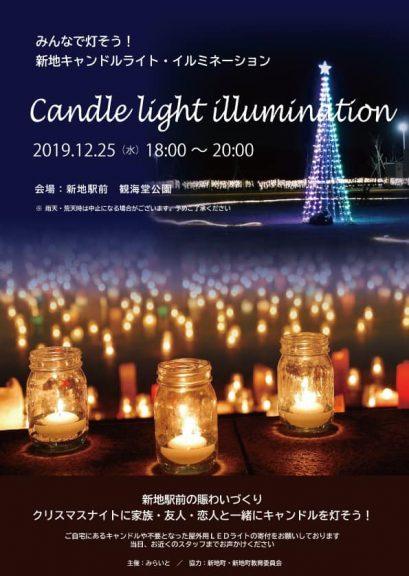 2019.12.25candle light illumination